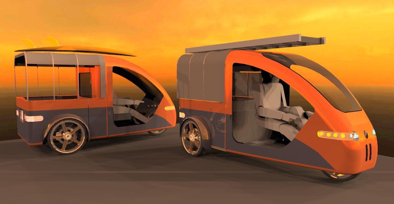 Open Ipub Organic Transit Solar Vehicle