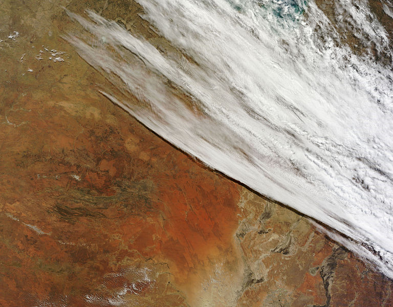 Unsettled Weather Across Central Australia