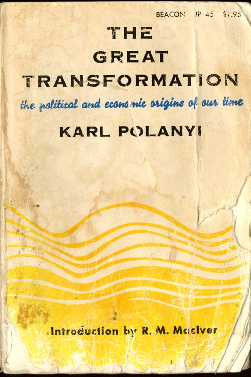 Front cover of The Great Transformation