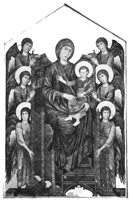 MADONNA, CHILD AND ANGELS