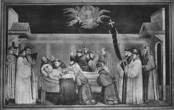 THE DEATH OF S. FRANCIS