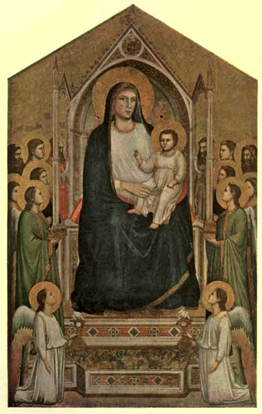 GIOTTO: MADONNA AND CHILD