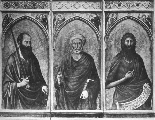SS. PAUL, PETER AND JOHN THE BAPTIST