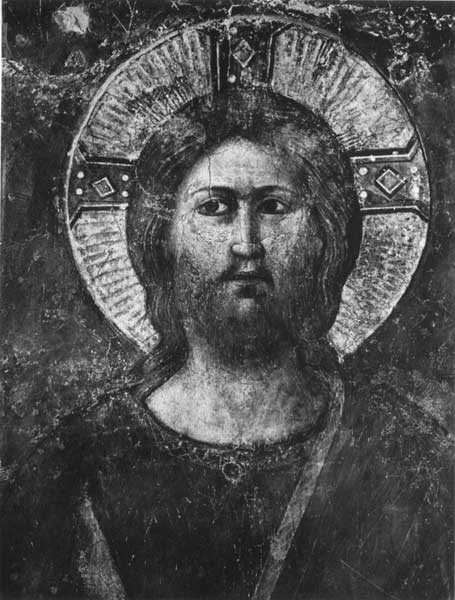 HEAD OF THE CHRIST IN GLORY