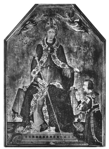 S. LOUIS CROWNING KING ROBERT OF NAPLES