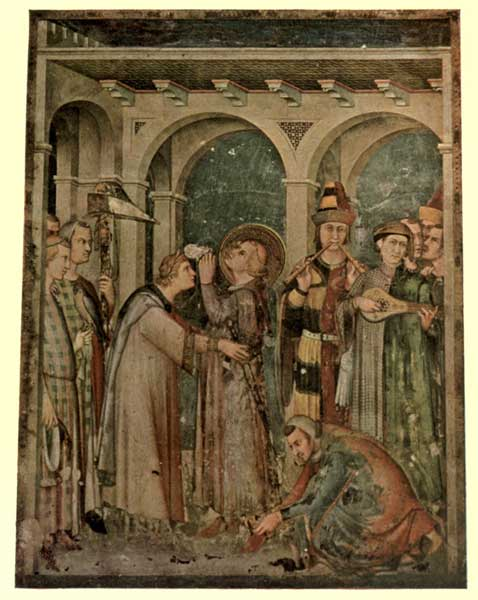 SIMONE MARTINI: KNIGHTING OF S. MARTIN