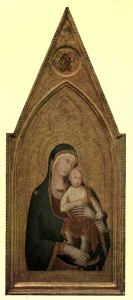 LIPPO MEMMI: MADONNA AND CHILD