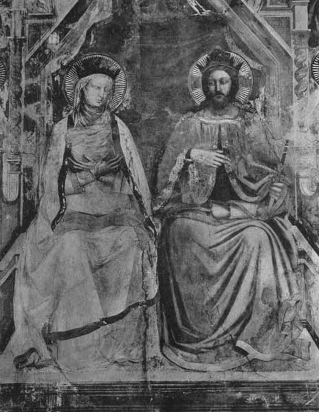 CHRIST WITH THE VIRGIN ENTHRONED