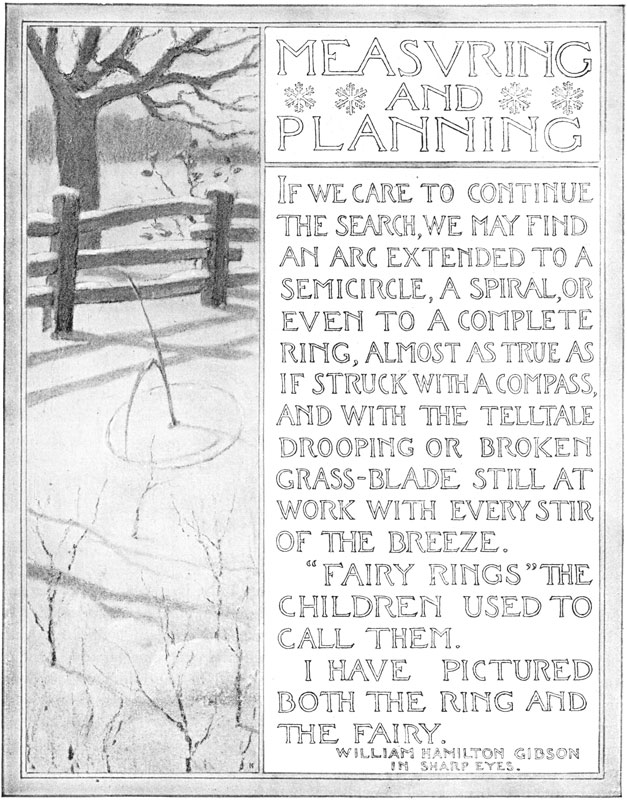 Measvring and Planning. If We Care to Continue the Search, We May Find an Arc Extended to a Semicircle, a Spiral, or Even to a Complete Ring, Almost As
