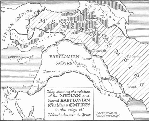 Open ipub a short history of the world map showing the relation of the median and second babylonian chaldan empires in the fandeluxe Images
