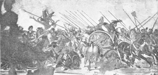ALEXANDER'S VICTORY OVER THE PERSIANS AT ISSUS