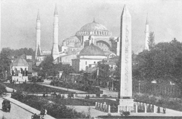THE CHURCH (NOW A MOSQUE) OF S. SOPHIA, CONSTANTINOPLE