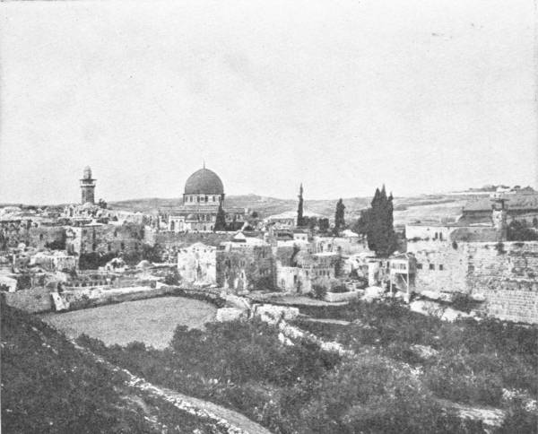 JERUSALEM, SHOWING THE MOSQUE OF OMAR
