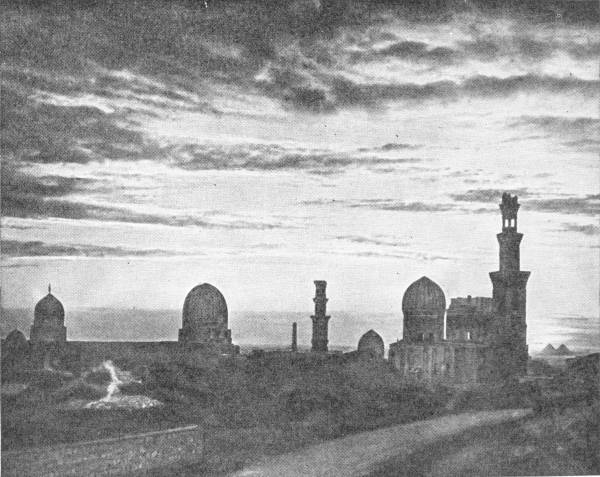 VIEW OF CAIRO MOSQUES
