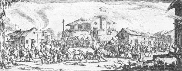 THE SACK OF A VILLAGE DURING THE FRENCH REVOLUTION