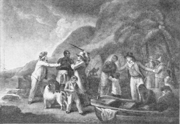 INCIDENT IN THE DAYS OF THE SLAVE TRADE