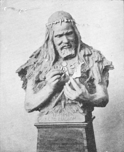 THE RUTOT BUST OF A CRO-MAGNON MAN